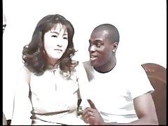 แฮนญี่ปุ่น milf นพังโดย bbc